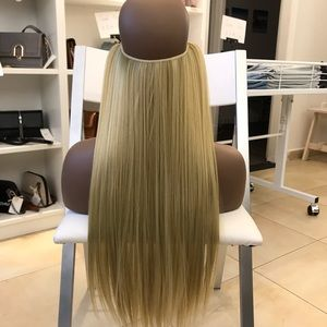 """Accessories - 26"""" Fish line band halo hair extensions"""